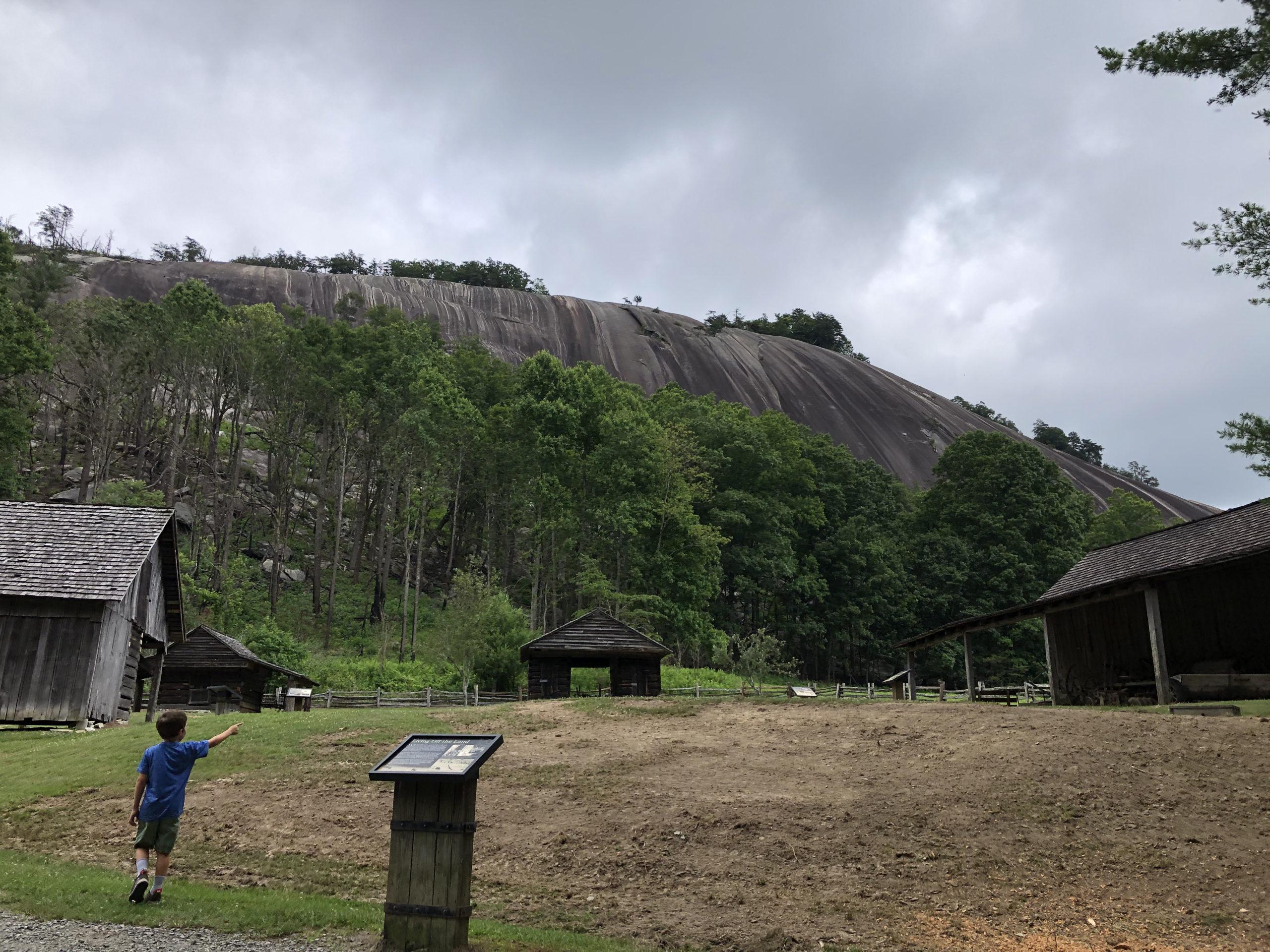 Adventures – on Stone Mountain